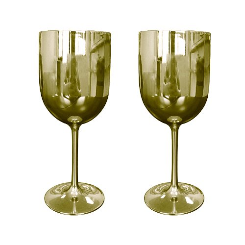 Colored Wine Glasses Champagne Coupes Cocktail Glass Champagne Flutes Plating Wine Cup Goblet Electroplated Plastic Wineglass