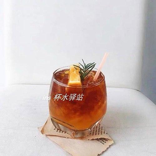 Modern Square Glass Cup Transparent Resistant Whiskey Juice Coffee Glass Cup Milk Yogurt Vasos De Vidrio Kitchen DE50BZ