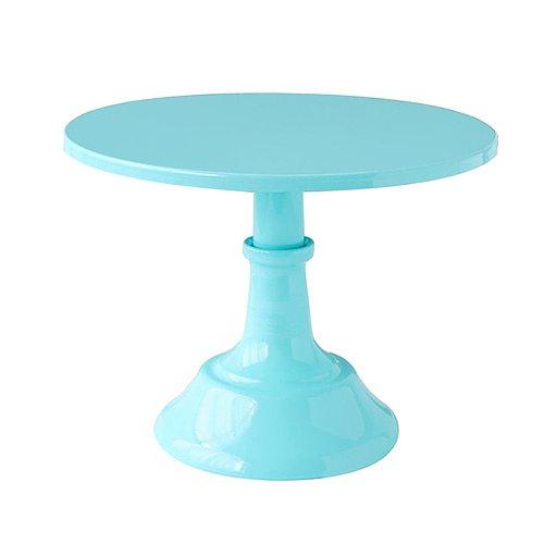 Home Afternoon Tea Party Decorative Fondant Birthday Baby Shower Cake Stand Wedding Display Holder Dessert Iron Round Tray