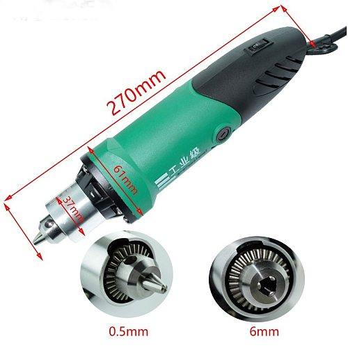 480W  Dremel 3000rpm Mini  Drill Engraver 6mm With 6 Position Variable Speed  Electric Rotary Power Tools With Flexible Shaft