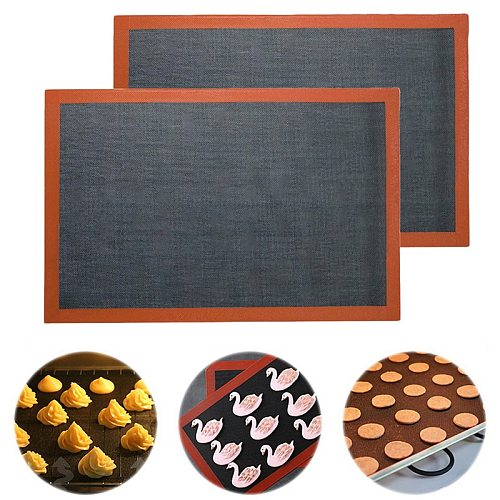 Hot Silicone Perforated Baking Mat Non-Stick Baking Oven Sheet Liner for Cookie /Bread/ Macaroon/Biscuits Kitchen Tools