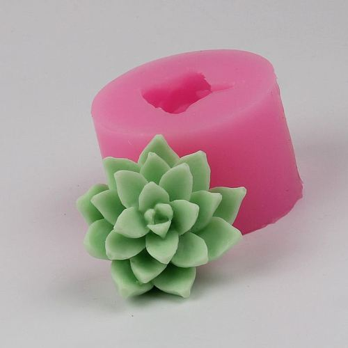 High Quality Silicone Mould 3 Fleshy Green Plant Leaf Leaves Fondant Cake Handmade Soap Mold Resin Clay Craft DIY Tools H601