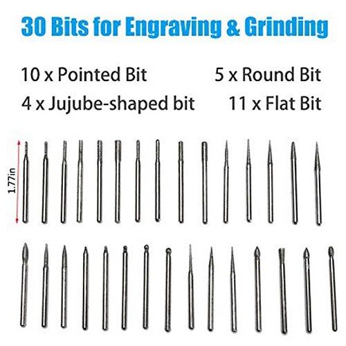 Mini Diy Engraving Tool Kit,Miniature Engraving Pen Mini Diy Vibro Engraving Tool Kit for Metal Glass Ceramic Plastic Wood Jewel