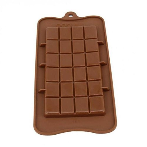 Cake Baking Mold 24 Grids with Square Chocolate Mold Ice Tray Jelly Baking Kitchen Tools 1pc
