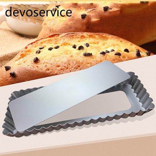 Aluminium alloy rectangle baking mould cake pan pie plate baking tools cake decoration cake mold& Baking tool