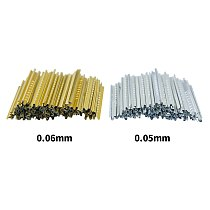 Okeytech Locksmith tools Finished tin foil strip gold and silver tin foil key consumables