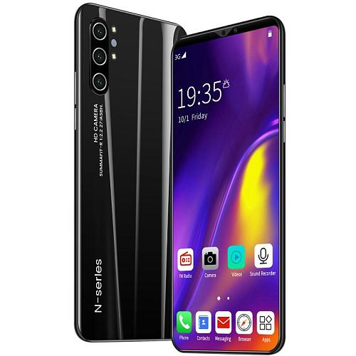 Note10 5.8 Inch 4GB RAM 64GB ROM Smartphone 8+16MP Camera 8 Core Dual SIM Face Unlock Mobile Phones Android 10 Cellphones 3G
