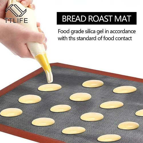 Micro Perforated Silicone Baking Mat Non-Stick Baking Oven Sheet Liner for Cookie/Bread/Macaroon/Biscuits Kitchen Bakeware Tools