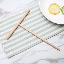 1PC Creative Wooden Rack Spreader High Quality Pancake Batter Wooden Spreader Stick Home For Kitchen Tool Batter Spreader Stick