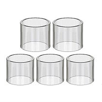 FATUBE 5pcs GLASS CUPS for expromizer 2.1 / Expromizer V4 / eXpromizer TCX DL  GLASS TUBE
