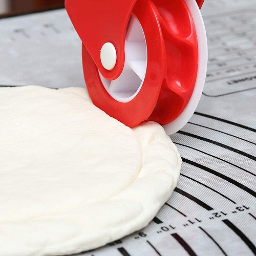 Pizza Pastry Wheel Pie Pastry Cutter DIY Dough Cutting Tools Lattice Rolling Cutter Decoration Baking Tools Kitchen Gadgets
