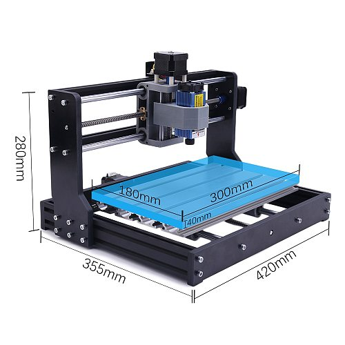 CNC 3018 PRO Laser Engraver Wood Router CNC Mini DIY Engraving Machine GRBL ER11 3 Axis Milling Cuting Machine For Wood PCB PVC