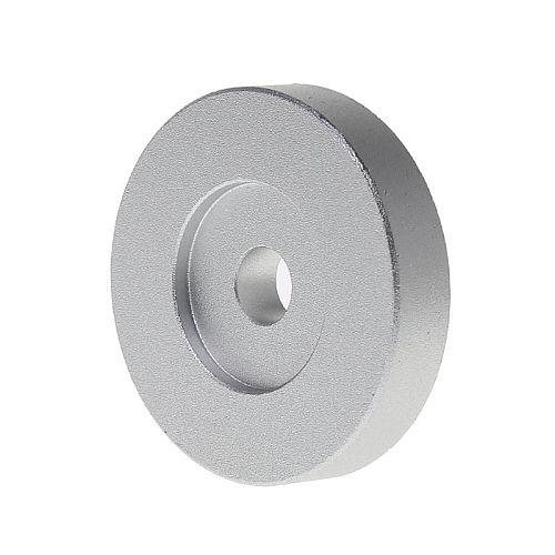 Record Turntable Adapter 45 RPM Aluminum Silver for 7  Vinyl Technics SL1200 Series