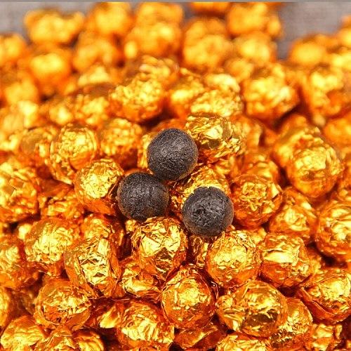 100g China Yunnan Ripe Tea Gold Tin Foil Packing  Resin Tea Pu'er Cha Gao