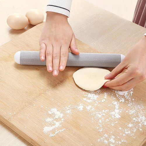 Dumpling Dough Fondant Rollers Cake Cookies Roller Pastry Boards Cake Tools Durable Non-stick Rolling Pins Bakeware Pastry Board