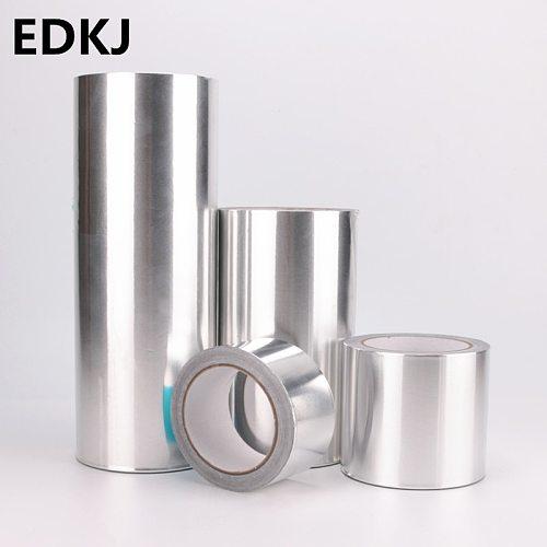 1pcs aluminum foil tape thickened 0.15mm heatproof cloth repair anti-leak filling pot tin foil waterproof tape
