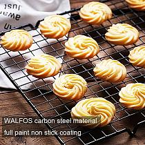 Non-Stick Cake Cooling Tray Bread Grid Net Rack Biscuit Cookie Holder Shelf