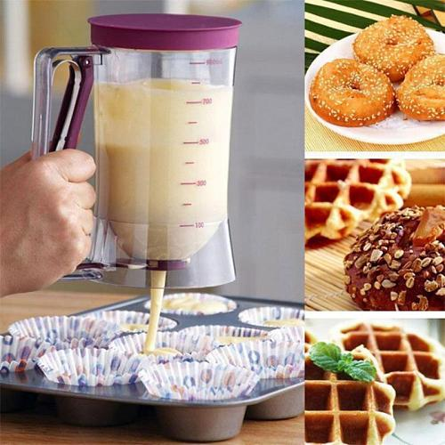Batter Dispenser Pastry Blenders DIY Cupcake Blenders Pancakes Bakeware Manual Cupcake Tool