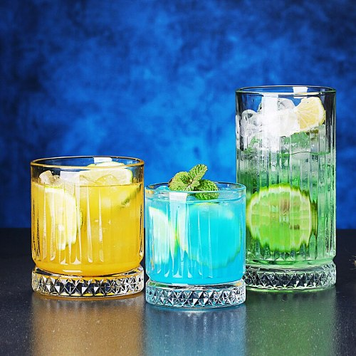 Turkish classical cocktail glass ins bar retro glass spirits glass whiskey glass long drink glass wine cup