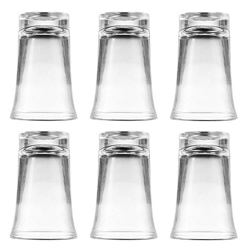 6Pcs/Set Party Wine Glasses Acrylic Cups For Glass Dispenser Drinking Games Cocktail Holder Party Decor Drinkware Accessories