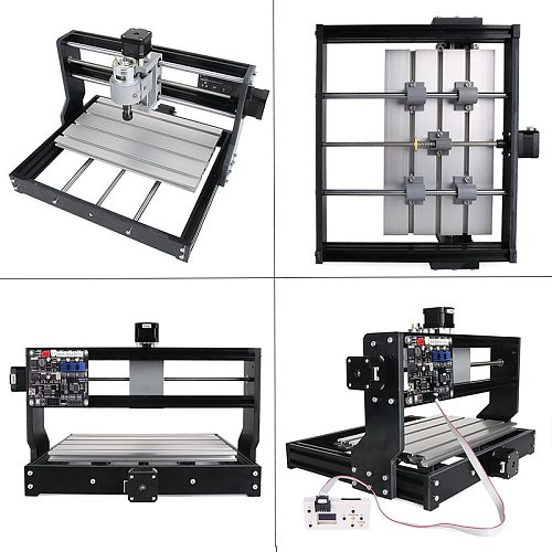 CNC 3018 Pro GRBL control ER11 Diy Mini Cnc Machine 3 Axis Pcb Milling Machine Wood Router Laser Engraving New Upgraded