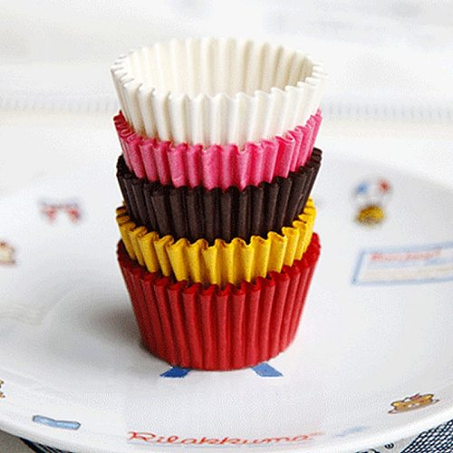 480Pcs/Set New Paper Cake Cup Cupcake Liners Decor Mini Muffin Greaseproof Paper Case Cookies Bake Mold Tool