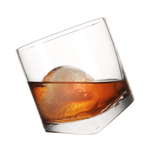 Free Shipping 4PCS Whiskey Glasses, Whisky Tumbler,Scotch Whisky, Bourbon, Cocktails,Water Glass Set of 4