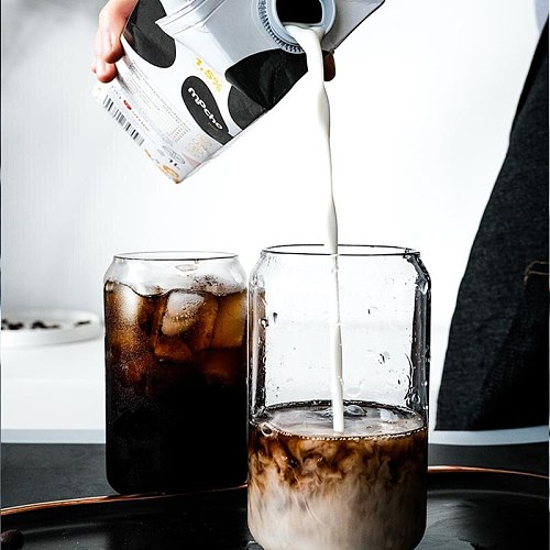 Cola creative glass water cup coffee can cup cup tea cup cocktail glass