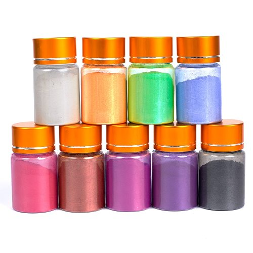 10g Edible Glitter Gold Powder Multi-color for Food Coloring Cake Decorating Flash Biscuit Mousse Cake Macaron Chocolate Baking