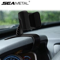 Car Holder Phone Auto Dashboard Mobile Phone Holder Car Phone Mount Clip Interior Phone GPS Navigation Support Stand Accessories