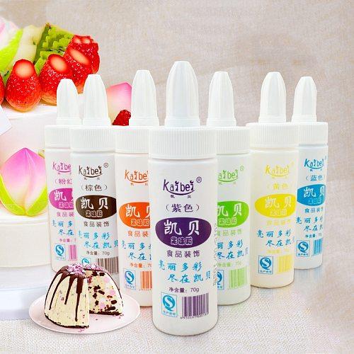 70g Cake Food Coloring Fruit Powder Cake Fondant Macaron Dessert Decal Soap Baking Color Cake Decoration Tools