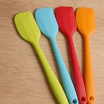 1pc Multi-purpose Kitchen Gadge silicone Pastry Scraper Butter Cream Spatula Heat-resisting Non-stick Cooking Baking Accessories
