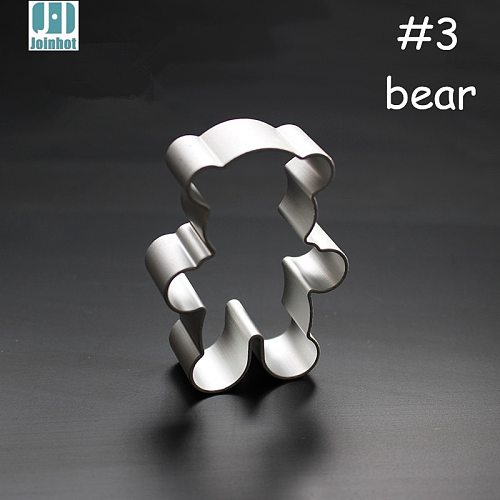 bear shape aluminium alloy cookie cutter pudding/Fruit/vegetable/toast mold