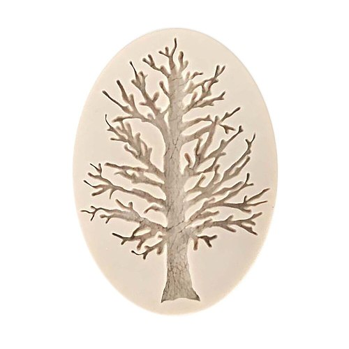 3d Tree Silicone Fondant Mold Cake Decorating Tools Chocolate sugar Mousse  Baking Mould Kitchen Gadgets And Accessories 2021