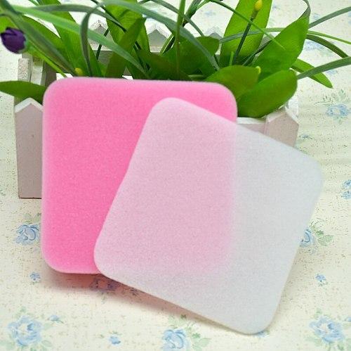 2pcs Fondant Cake Foam Pad Decorative Sponge Mat Sugarcraft Flower Modelling DIY Flower Shapes Gum Paste Kitchen Bakeware Tools