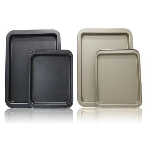 Rectangular Cookie Sheets bread cake baking pan oven baked tools