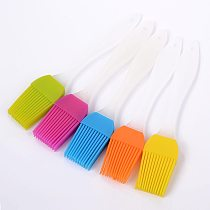 Can withstand high temperatures Baking Bread Cake tools Pastry Oil oil brush Flexible Silicone Basting Brush for BBQ Supplies