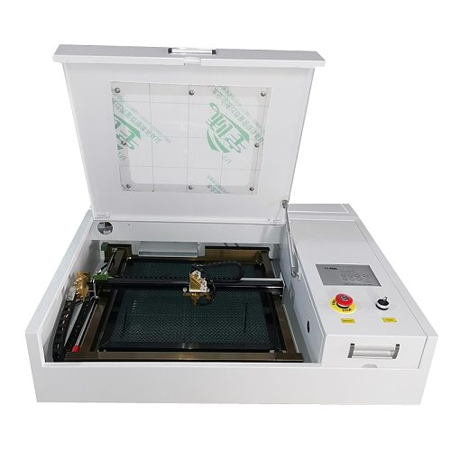 4040 Co2  laser engraving and cutting machine 50W laser engraver and cutter free shipping with higher quality