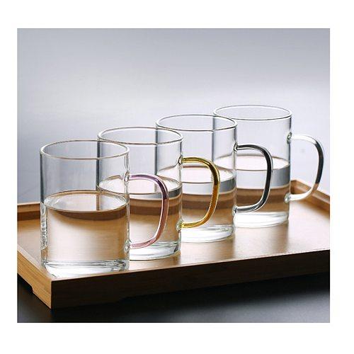 Coffee Glass Mug Drinks Dessert Breakfast Milk Tea Coffee Cup Drinks Dessert Breakfast Colour Handle Drinkware Couple Gifts