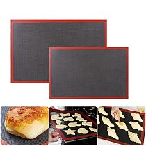 Perforated Silicone Pastry Mat Non-Stick Baking Mat Oven Sheet Liner Bakery Tool For Cookie /Bread/ Macaroon Kitchen Bakeware
