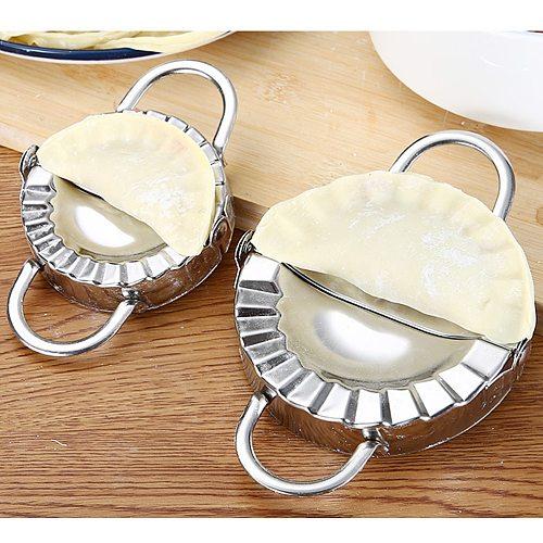 Stainless Steel Dumpling Mold DIY Dumpling Mold Dumpling Wrapper Cutter Eco-Friendly Pastry Tools Dumpling Jiaozi Maker Device