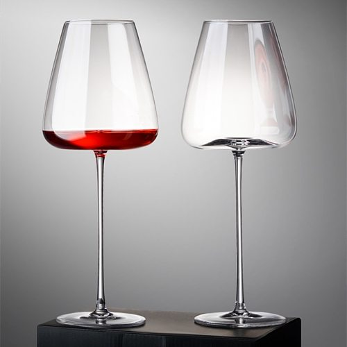 Crystal Wine Glass Northern Europe A Pair Oversized Grape Goblet Wedding Party Birthday Gift Box Lead-Free Couple Cup