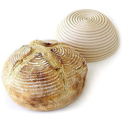 New Rattan Bread Proofing Basket Natural Round Oval Baking Cake Pans Rattan Wicker Dough Fermentation Sourdough Bread Basket