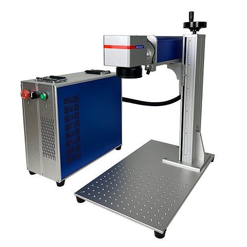 20W 30W 50W Fiber Laser Marking Machine Raycus JPT Laser Source Engraver For Metal Plastic Phone Case Ceramics Print Carving