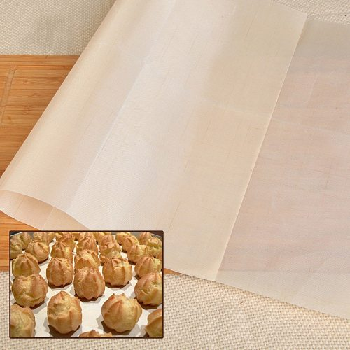 Heat-resistant Baking Cloth Non-stick Oil Reusable Baking Mat for Microwaves Ovens Freezers Baking Pastry Kitchen Tools
