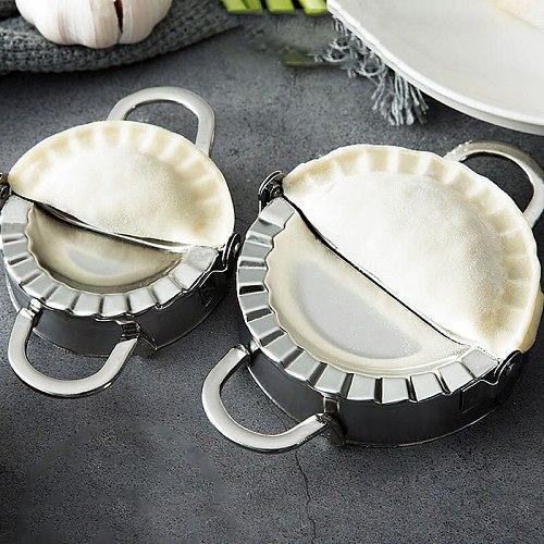 3Pcs/set Dumpling Maker Stainless Steel Dough Cutter Pie Maker Pastry Tools Dumpling Mould Kitchen Aid Home Baking Accessories