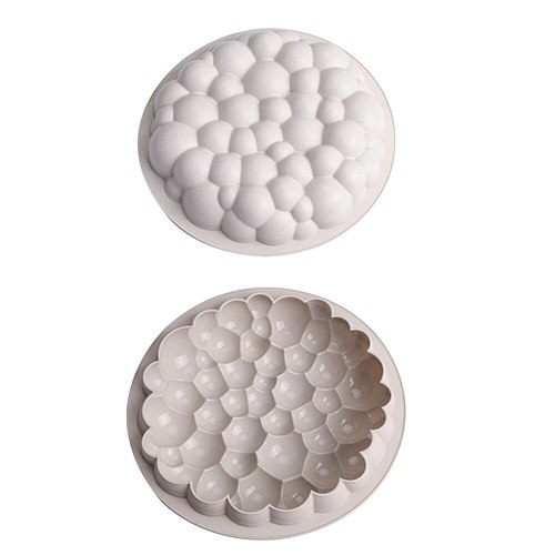 Round shape cloud silicone mold cloud mousse cake mold dessert silicone cake mousse mold dessert decoration cake tool cake tools