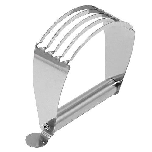 Anti Slip Pastry Cutter Manual Kitchen Gadgets Stainless Steel Professional Butter Flour Mixer Durable Baking Tool Dough Blender