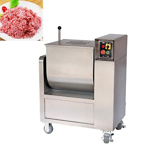 Commercial Electric Sausage Meat Mixing Machine/50L Large Meat Food Stuffing Mixer Machine Automatic Minced Meat Food Blender