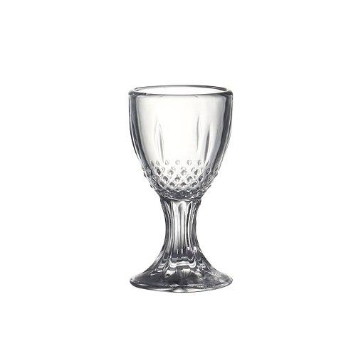 Set of 6pcs 0.5/0.8oz  Machine Made Lead Free Chinese Old Fashioned Baijiu Shot Glasses for Liquor Bar Wedding Party 15ml/24ml
